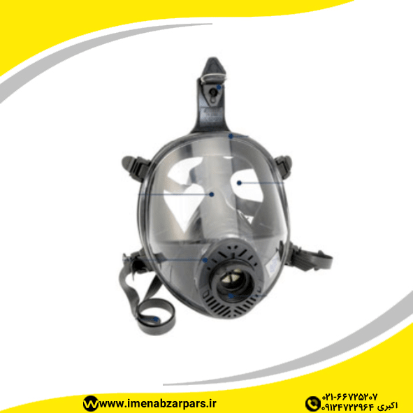 ماسک تمام صورت SPASCIANI مدل TR2002-CL3